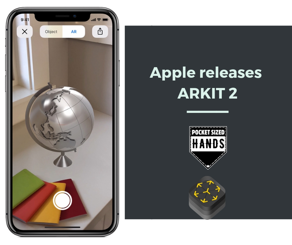 Apple releases ARKit 2.0