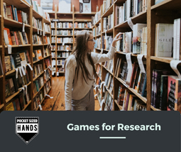 Using Games for Research