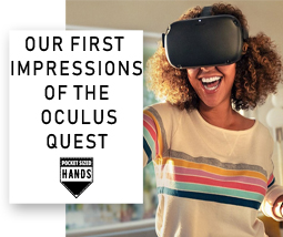 Our first impressions of the new Oculus Quest
