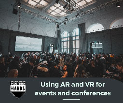 Using AR and VR for events and conferences