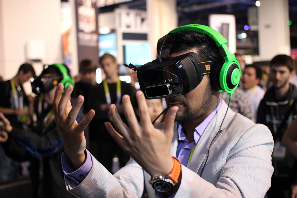 Virtual reality for events