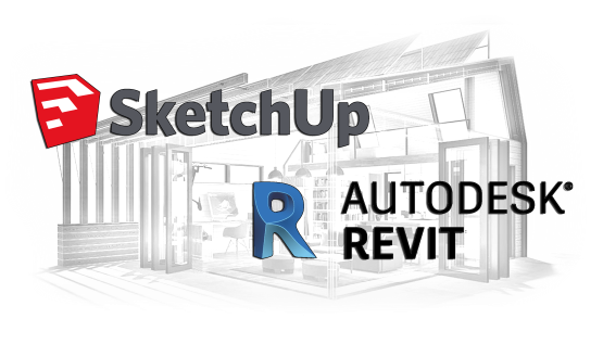 Revit and Sketchup